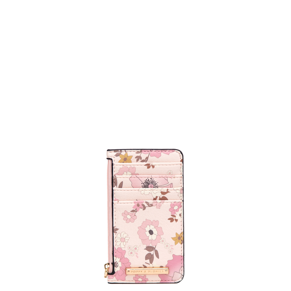 ALL YOU NEED CARD HOLDER desert floral