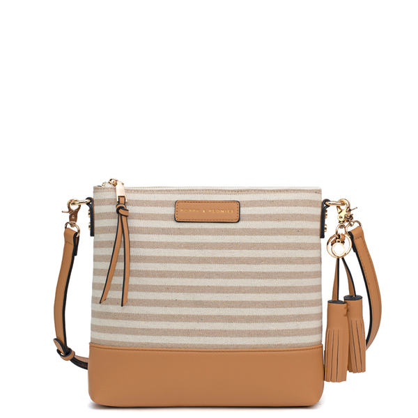 the ARIZONA CROSSBODY neutral stripe
