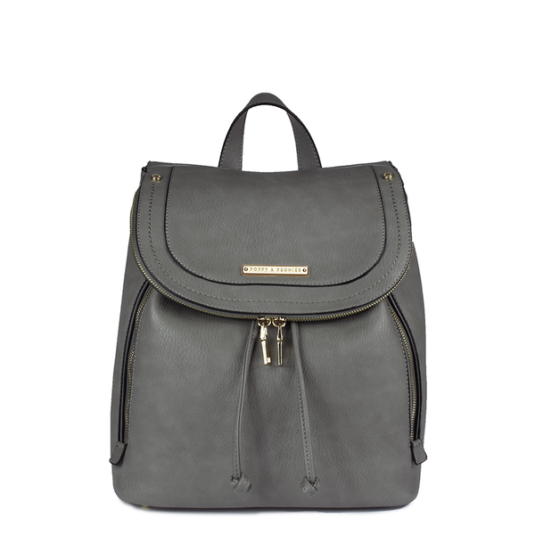 <i>the</i> KENSINGTON BACKPACK <i>charcoal</i>