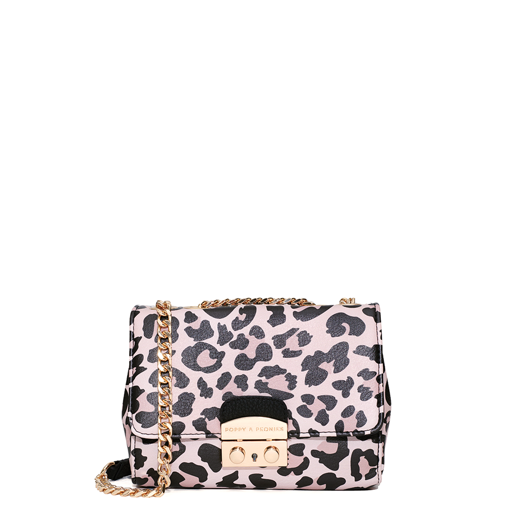 <i>the</i> BELLE OF THE BALL CROSSBODY <i>leopard</i>