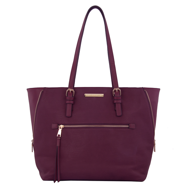 <i>the</i> GRAMERCY TOTE <i>berry</i>