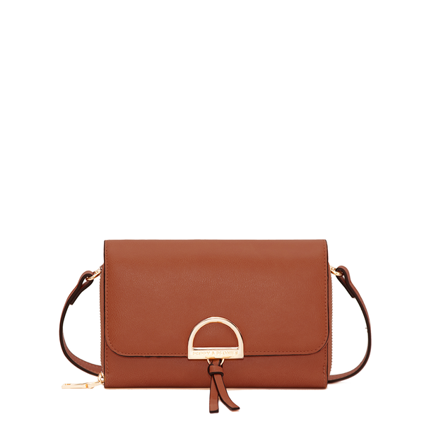 the BOHO WALLET toffee