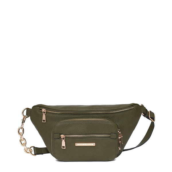 <i>the</i> BROOKE BELT BAG <i>olive</i>