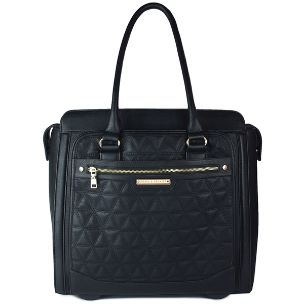 <i>the</i> CARRY-ALL <i>black quilted</i>