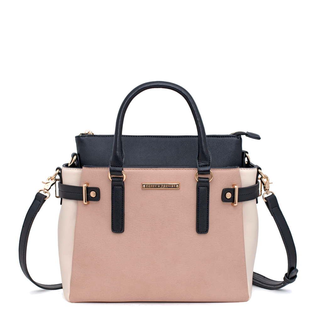 the COLOURBLOCK SATCHEL multi