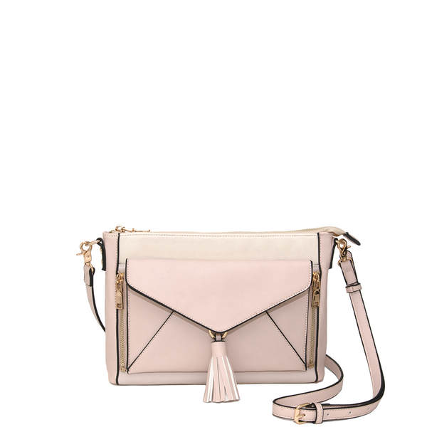 <i>the</i> DAHLIA CROSSBODY <i>blush</i>