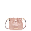 the DESERT BUCKET BAG MINI nude croco