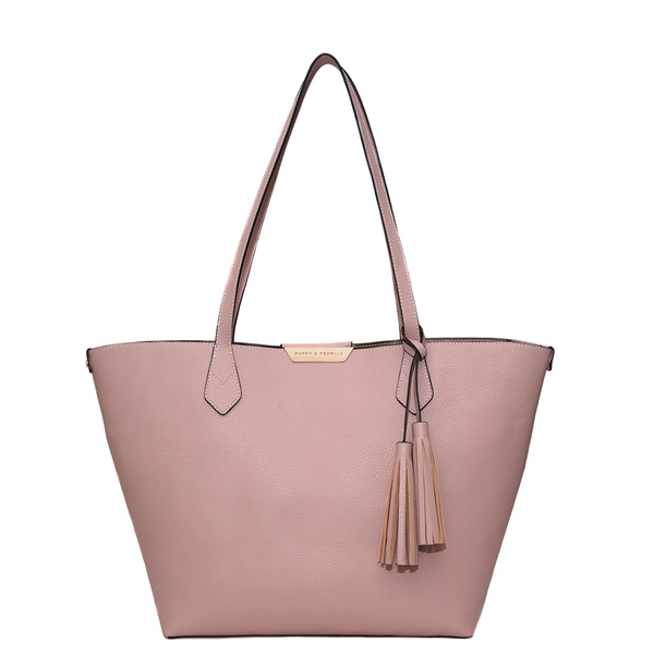 <i>the</i> DOUBLE DUTY TOTE <i>blush & rosegold</i>