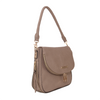 the DOWNTOWN CROSSBODY taupe