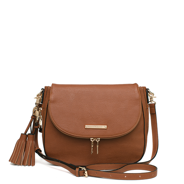 <i>the</i> DOWNTOWN CROSSBODY <i>chestnut</i>