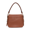 the DOWNTOWN CROSSBODY chestnut