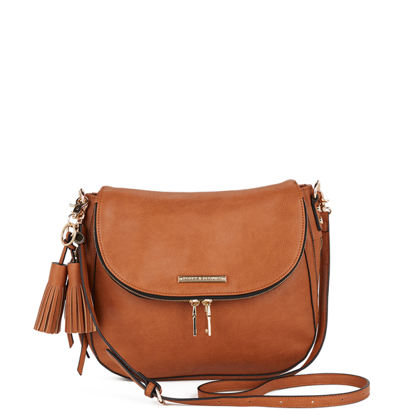 <i>the</i> DOWNTOWN CROSSBODY <i>cognac</i>