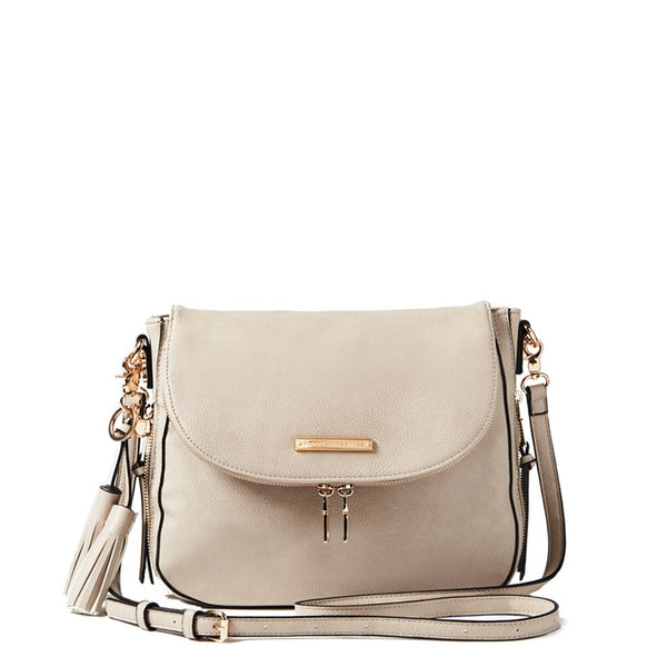 <i>the</i> DOWNTOWN CROSSBODY <i>grey</i>