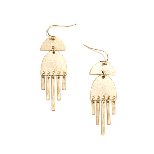 DYLAN EARRINGS  <i>gold</i>