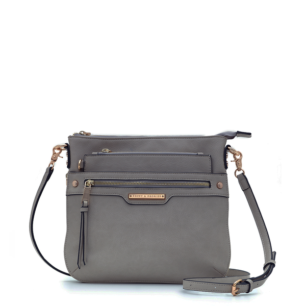 <i>the</i> EVERYDAY CROSSBODY <i>charcoal</i>