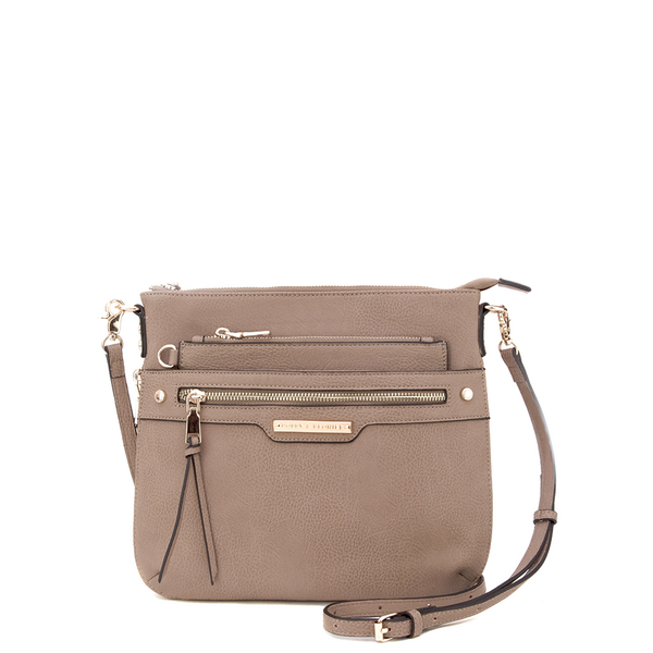 <i>the</i> EVERYDAY CROSSBODY <i>taupe</i>