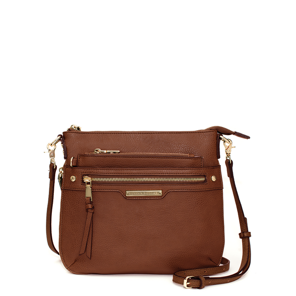 <i>the</i> EVERYDAY CROSSBODY <i>chestnut</i>