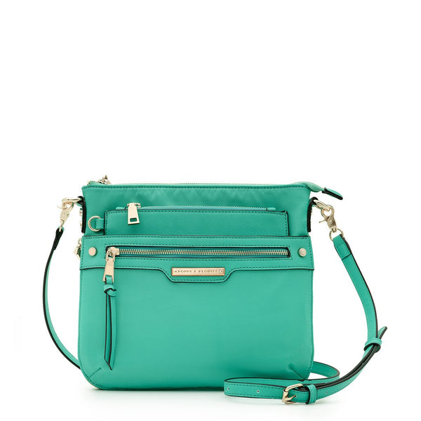 <i>the</i> EVERYDAY CROSSBODY <i>turquoise</i>