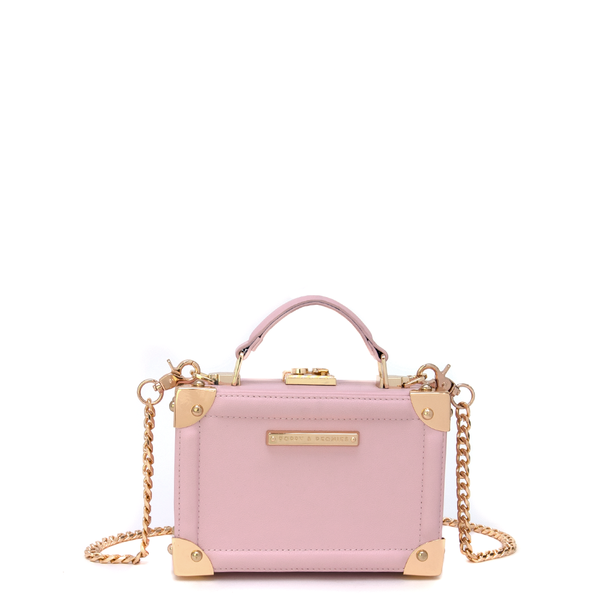 <i>the</i> FAIR AND SQUARE CLUTCH <i>blush</i>