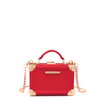<i>the</i> FAIR AND SQUARE CLUTCH <i>red</i>