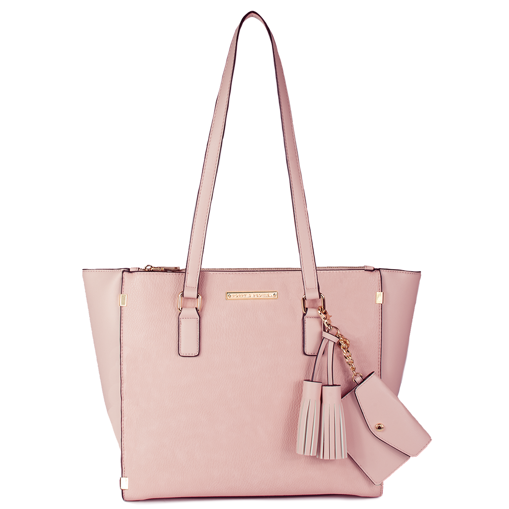 <i>the</i> STELLA TOTE <i>blush</i>
