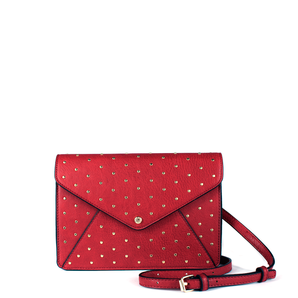 <i>the</i> RSVP CLUTCH <i>red</i>