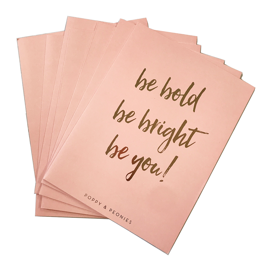 <i>be bold </i>FOLDERS <i>10 pack</i>