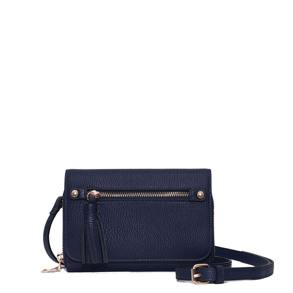 <i>the</i> FRANKIE WALLET <i>navy</i>
