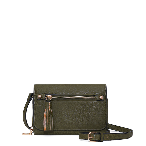 <i>the</i> FRANKIE WALLET <i>olive</i>