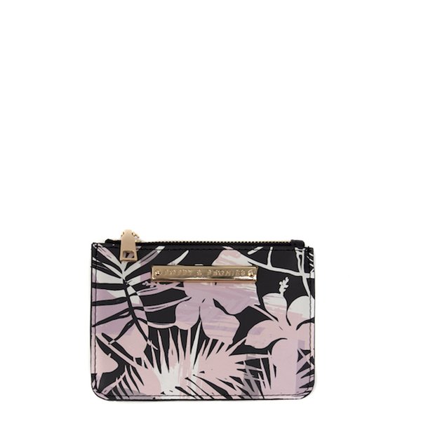 ALL YOU NEED CARD HOLDER <i>tropical print</i>