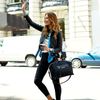 <i>the</i> GO ANYWHERE SATCHEL <i>black</i>