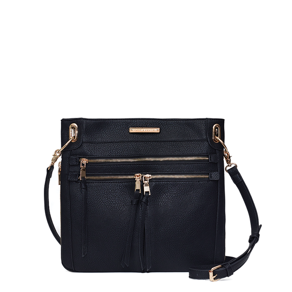 <i>the</i> HARLOW CROSSBODY <i>black</i>