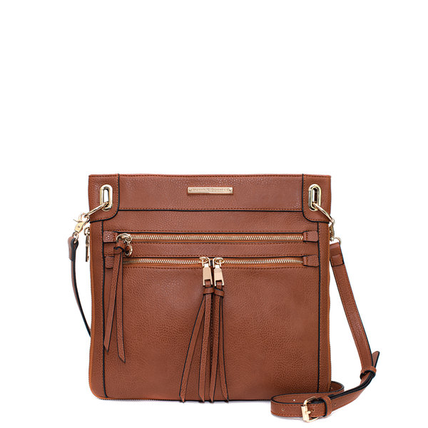 <i>the</i> HARLOW CROSSBODY <i>chestnut</i>