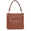 the HARLOW CROSSBODY chestnut