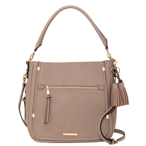<i>the</i> HENLEY MESSENGER <i>taupe</i>