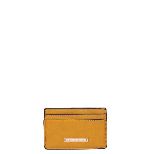 HOLD ME CARD HOLDER <i>mustard</i>