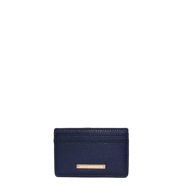HOLD ME CARD HOLDER <i>navy</i>