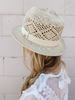 the SUNCATCHER HAT cream