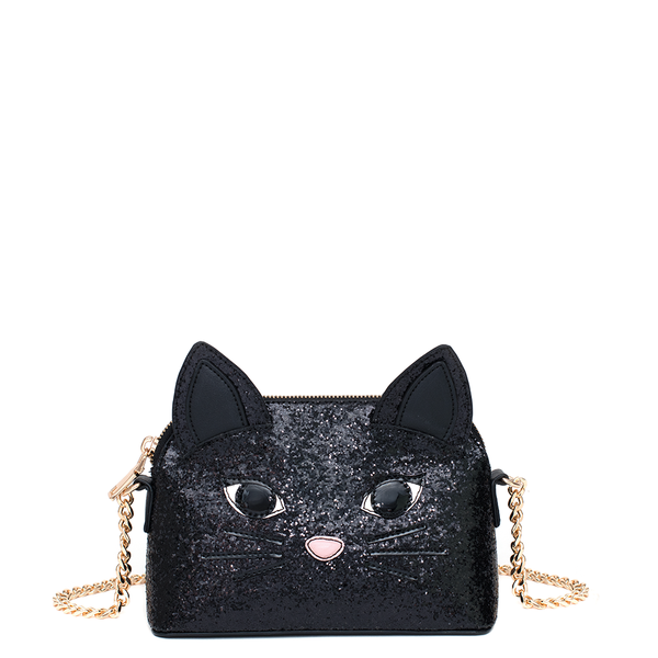 the KITTEN AROUND CROSSBODY black