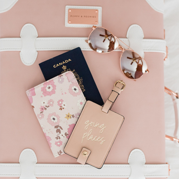<i>the</i> GOING PLACES DUO <i>blush</i>