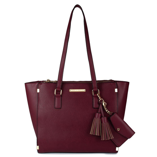 <i>the</i> STELLA TOTE <i>berry</i>