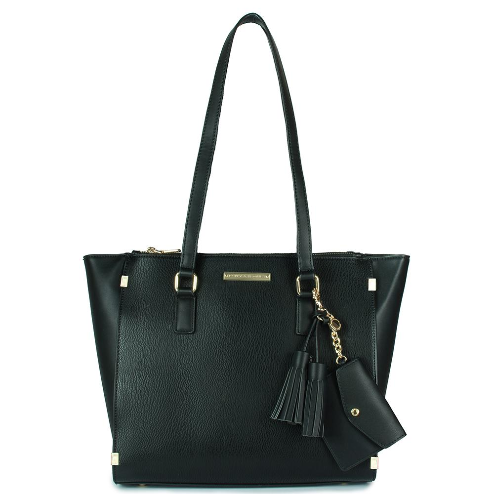 <i>the</i> STELLA TOTE <i>black</i>