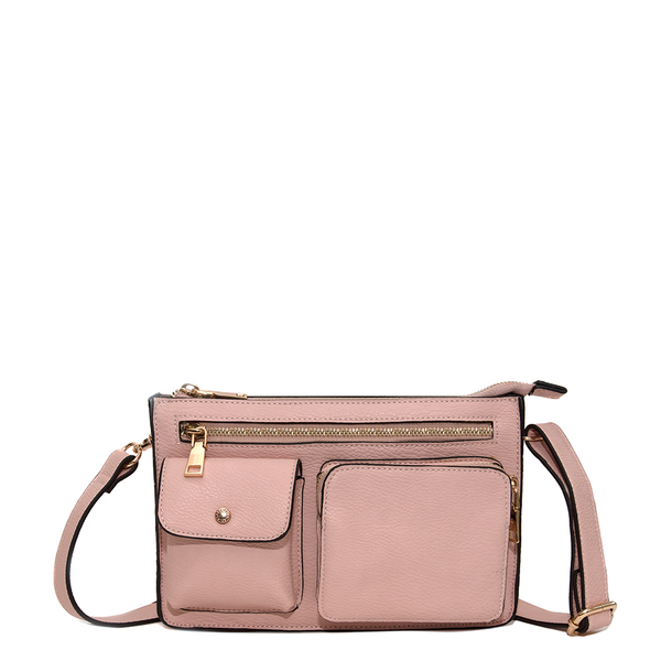 <i>the</i> LOULOU BELT BAG <i>blush</i>
