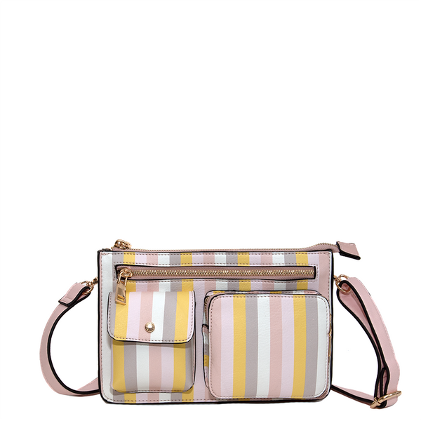 <i>the</i> LOULOU BELT BAG <i>spring stripe</i>