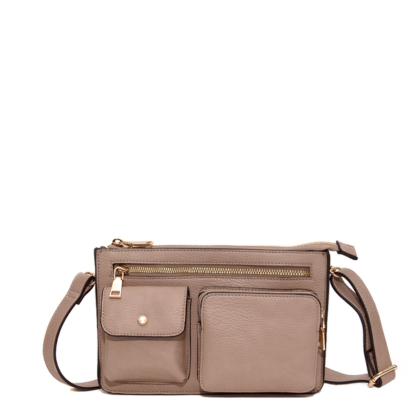 <i>the</i> LOULOU BELT BAG <i>taupe</i>