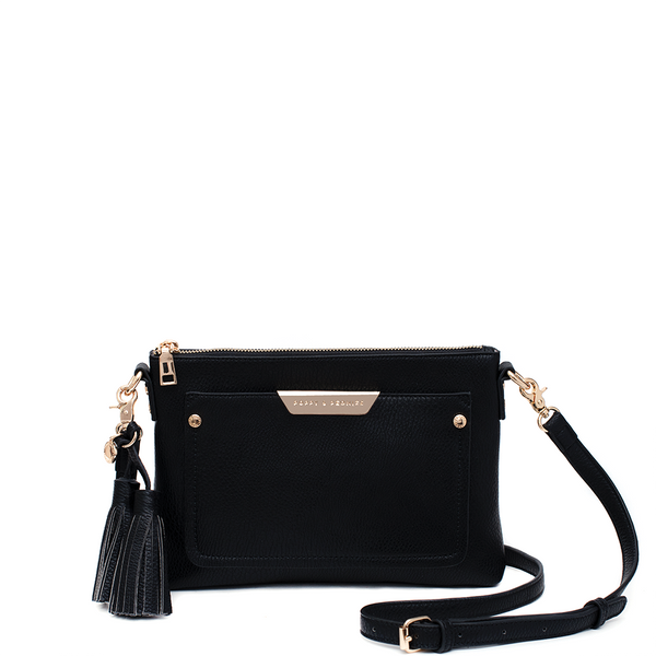 <i>the</i> MADELINE CROSSBODY <i>black</i>