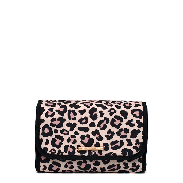 MAKEUP YOUR MIND TRAVEL CASE </br><i>leopard</i>