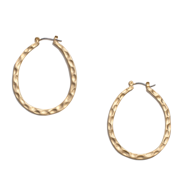 MARIGOLD HOOPS gold