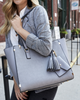 <i>the</i> STELLA TOTE <i>charcoal</i>