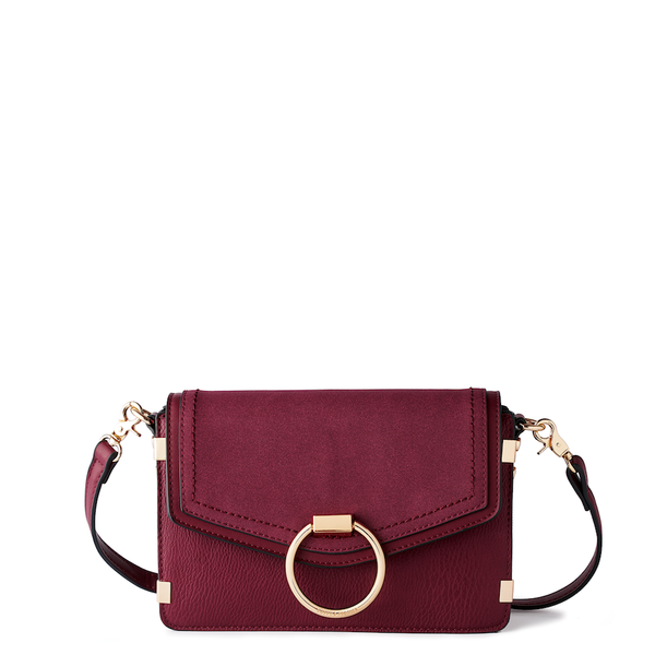 <i>the</i> BRIGITTE CROSSBODY <i>berry</i>